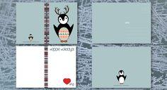 Dit is de special kersteditie van Ping! 10 kaarten en 10 enveloppen in 1 set voor slechts € 7,50!