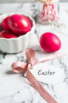 painted eggs and a note on easter holiday