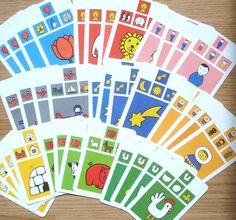 Kwartetkaarten, Nijntje, hobbymateriaal, karton, 12 x 8 cm, 36 stuks by LabelsAndMore on Etsy
