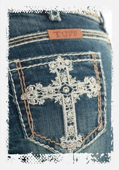 Womens Victory Cream Jeans from Cowgirl Tuff Jeans. LOVE these! wish they weren't so expensive