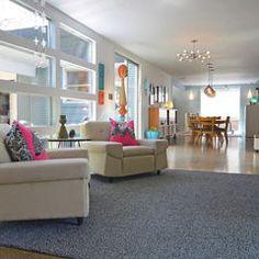 modern living room by Sarah Greenman