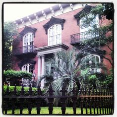 Mercer Williams House - Savannah, GA  Midnight in the Garden of Good & Evil