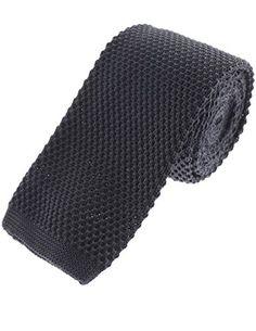 FLATSEVEN Cravate Tricot Couleur Unie Skinny Homme (YA503) Bleu  Amazon.fr   Vêtements et accessoires 393c011d1fd
