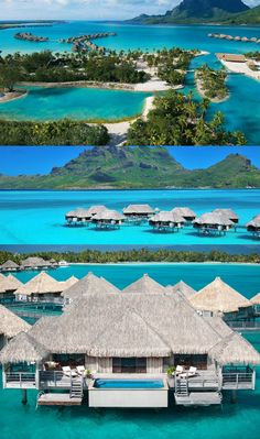 Four Seasons is nominated as one of the best resort for vacation. Come and plan your vacation at Four Seasons in Bora Bora. #vacation #resort #hotel #sun #sea #beach #beachresort #holiday #travel
