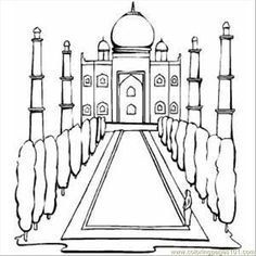 7 Best India Images In 2013 Coloring Pages Colouring