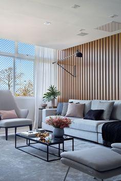 Living Room Sofa Design, Bedroom Bed Design, My Living Room, Home And Living, Living Room Designs, Living Room Decor, Sala Grande, House Rooms, Decor Interior Design