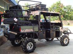 hunting-conversion-08 Hunting Truck, Duck Hunting, Texas Hunting, Quail Hunting, Polaris Utv, Polaris Ranger, Ranger Atv, Quad, Brush Truck