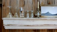"shelf ledge | Wood Floating Mantel - Shelf - Wooden Ledge - Shabby 72"" Long - Home ..."
