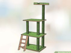 Many cats love to climb trees. A homemade cat tree will provide your kitty with hours of entertainment and fun, and can be built at a fraction of the cost of the cat trees available at a pet store. To make a cat tree, you'll need to create. Cat Tree Plans, Cat Climber, Cat Crying, Diy Cat Tree, Cat Towers, Sisal, Cat Enclosure, Cat Behavior, Cat Furniture
