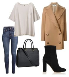 """""""Simplicity"""" by filthyriot on Polyvore featuring STELLA McCARTNEY, H&M, Uniqlo, Gianvito Rossi, women's clothing, women's fashion, women, female, woman and misses"""