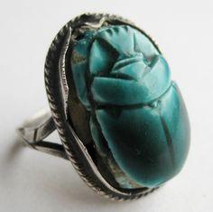 Scarab Ring.