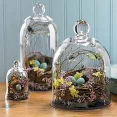 spring Easter cloche