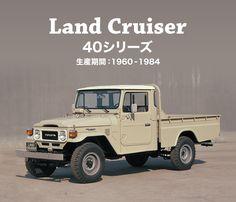 名車ギャラリー ランドクルーザー 40シリーズ