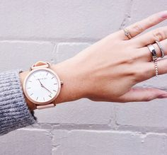 The Fifth View with Fifth blogger Anne Fed wearing her Rose-Gold & Peach Fifth timepiece. The Fifth Watches // Minimal meets classic design: www.thefifthwatches.com