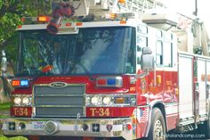 San Antonio Fire Department- cute post about boys and fire trucks