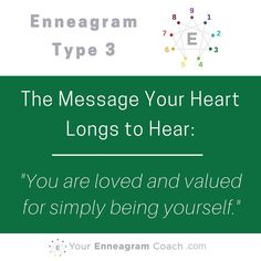 Enneagram Type 3 YourEnneagramCoach.com Beth McCord