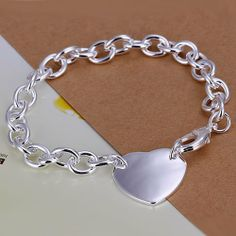 925 silver bracelets for lovers