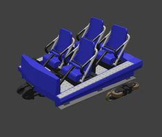 I hope I can finish the printed model of goliath tomorrow.  After @coasterconstruction created the basic model with SketchUp I optimized it in Blender for 3D printing.  #3dprinted #rollercoasters #3d #3dprint #3dprinting #rollercoaster #coaster #3dmodel #3dmodelling #achterbahn #amazing #design #selfmade #art #intamin #train #walibi #walibiholland #goliath #blue #blender #render #rendering #recreation #train #construction