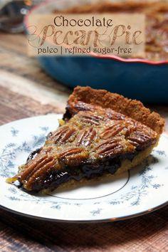 Paleo Chocolate Pecan Pie — Foraged Dish
