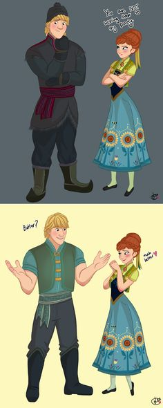 Dear Disney, Please give Kristoff a new outfit for the Frozen Fever short.