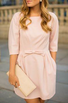 Sweet little pink dress ==