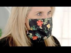 Easy-to-make Cozy Face Mask Cover - Bing video Easy Face Masks, Homemade Face Masks, Diy Face Mask, Small Sewing Projects, Sewing Hacks, Sewing Tutorials, Sewing Ideas, Sewing Tips, Sewing Crafts