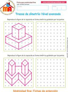 Trazos de simetría: Nivel avanzado 09