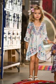 This one for my daughter Liv Ocean;-)   Gypsy Sparkle Kaftan Wild Lily Blue