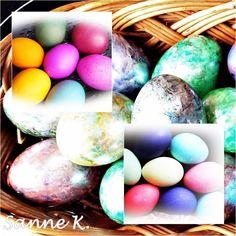 Eier kochen und färben im Varoma (TM)