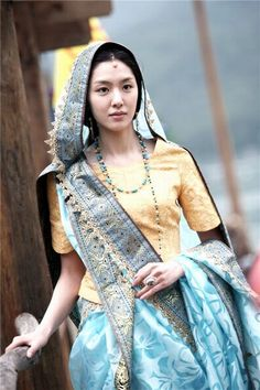 BYJ, JKS, LMH & Hallyu Star (Asian Drama - Movie) : Thailand Site...: [Photo & News] Seo Ji-hye as Indain Princess in Kim Soo Ro MBC Drama