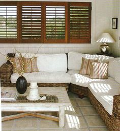 Window shutters - awesome-finally a pic with the wood shutters and white trim! I want this for my whole house!