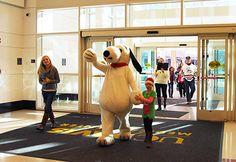 Snoopy spreads cheer at UC Davis Children's Hospital