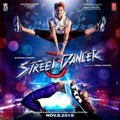 Style Logo Design for the film. Street Dancer is a dance film produced by Bhushan Kumar under T-Series. Directed by Remo D'Souza, stars Varun Dhawan and Shraddha Kapoor. It is slated to release on November This film is also known as Anyb… Top Bollywood Movies, Bollywood Movies Online, Bollywood Actress, Bollywood Posters, Bollywood Couples, Dance Movies, Hindi Movies, Movie Sequels, 3 Movie