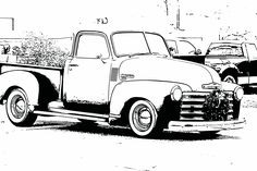 Free Coloring Sheets Pictures Of Vintage Cars For Kids Bring A Little Bit Nostalgia