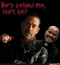Negan's reaction to Gabriel cracked me up.  He is a creepy son of a bitch.  LoL