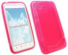 HTC Incredible S Hydro Gel Case - Hot Pink