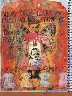 I want to make an art journal