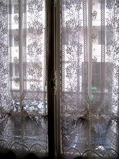 I love these French curtains. Reminds me of waking up with a light breeze and knowing you are in a place you adore...Paris