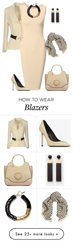 """outfit 6370"" by natalyag on Polyvore featuring L'Autre Chose, Dasein and Lafayette 148 New York"
