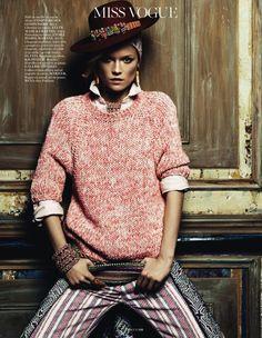 awesome Vogue Paris | Editorial Moda Abril 2013 | Kasia Struss por Claudia Kmoepfel & Stefan Indlekofer