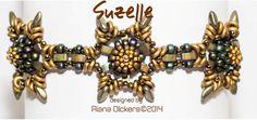 Beaded Bracelet Tutorial with Czech O di RianaOlckersBeadWork