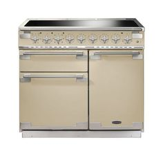 Buy The Rangemaster Elise 100 Induction Stainless Steel Range Cooker 100180 From CookersAndOvens At A Fantastic Price. Electric Range Cookers, Electric Oven, Foyers, 90cm Range Cooker, Induction Range Cooker, American Fridge Freezers, Gas Stove Top, Domestic Appliances, Cottage