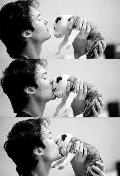 Ian and puppy