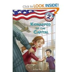 Kids Political Books:  Capital Mysteries #2: Kidnapped at the Capital (A Stepping Stone Book(TM)): Ron Roy,Liza Woodruff: 0033500265143: Amazon.com: Books