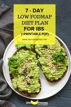 IBS Printable Meal Plan For 7 Days Looking for a suitable IBS meal plan that will also eliminate FODMAPs out of your diet? Click the link and grab your FREE 7 day meal plan to relief symptoms Food Map Diet, Diet Food List, Dieta Fodmap, Low Cal, Foods For Bloating, Ibs Bloating, Fodmap Meal Plan, Elimination Diet Recipes, Fodmap Breakfast