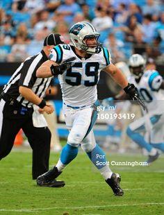Luke Kuechly of the Carolina Panthers