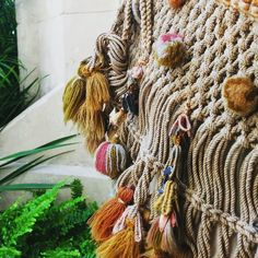 Whilst studying hard rediscovered this photo I took on a trip to #waddesdonmanor . Serious #passementerie by gristandtwine