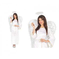 Disfraz de Angel Blanco Terciopelo Diy Costumes, Coat, Fashion, Shopping, Adult Costumes, Suits, Festivals, Moda, Sewing Coat