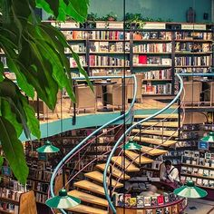 Librairie La Fontaine, Lausanne, Switzerland : The World's Most Beautiful Bookstores : Architectural Digest