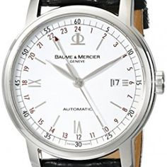 Baume-Mercier-Mens-MOA08462-Classima-Executive-Analog-Display-Swiss-Automatic-Black-Watch-0